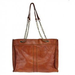 Borsa Shopping con catena Vintage
