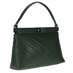 Sauvage handbag - with shoulder strap - quilted