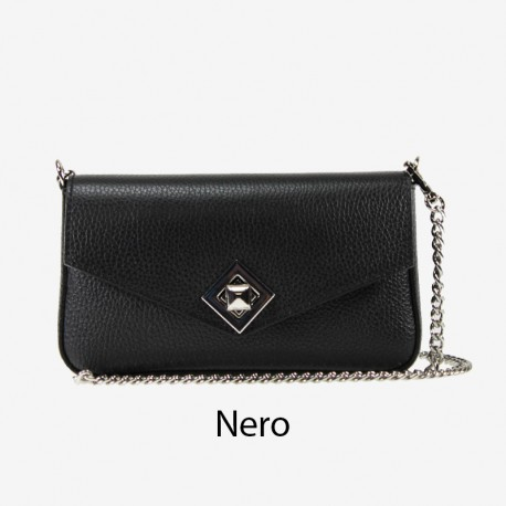 Small shoulder leather bag