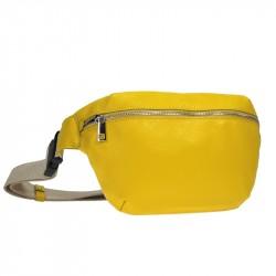 sac ceinture en cuir