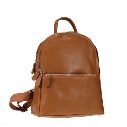 Кожаный рюкзак, качественный, мягкий и мультикарманы