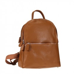 Leather backpack, high quality, soft and multipockets