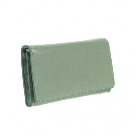 Wallet clutch bag with chain