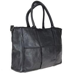 Handbag with thick weave