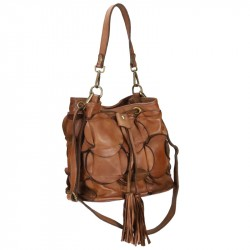 Vintage style leather bag