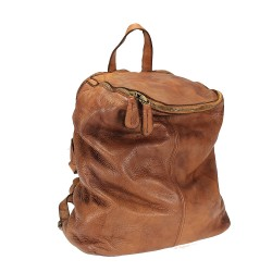Soft vintage effect backpack