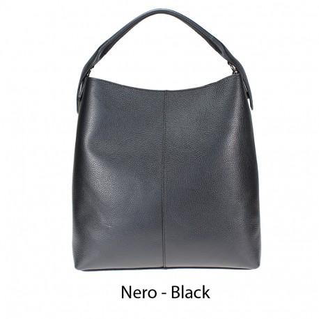 Large shoulder bag with shoulder strap